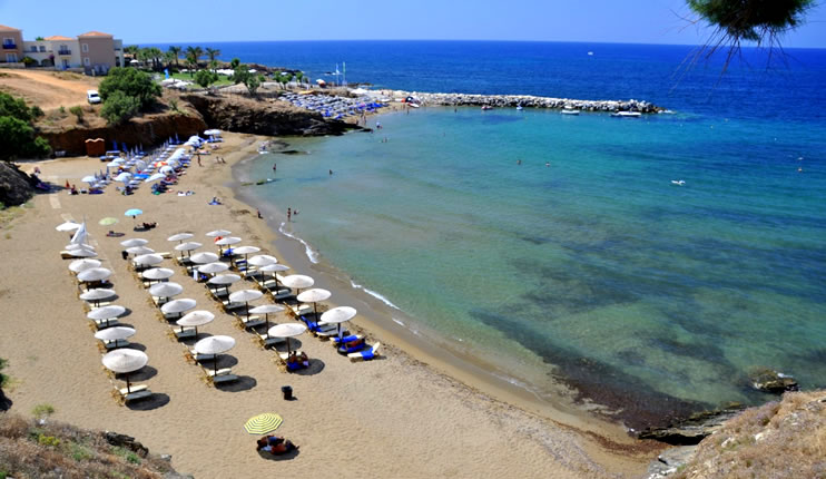 Beaches in Rethymno